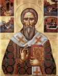 Icon of St. Cyril of Jerusalem