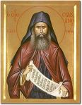 Icon of St. Silouan the Athonite