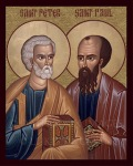 Icon of Sts. Peter and Paul