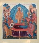 Icon of Dormition of the Theotokos