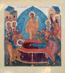 Icon of Dormition of the Theotokos