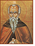 Icon of St. Thalassios the Libyan