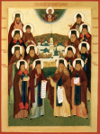 Icon of the Optina Elders