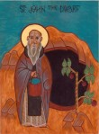 Icon of St. John the Short