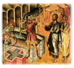 Icon of the Healing of the Paralytic