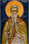 Icon of St. Gregory of Sinai